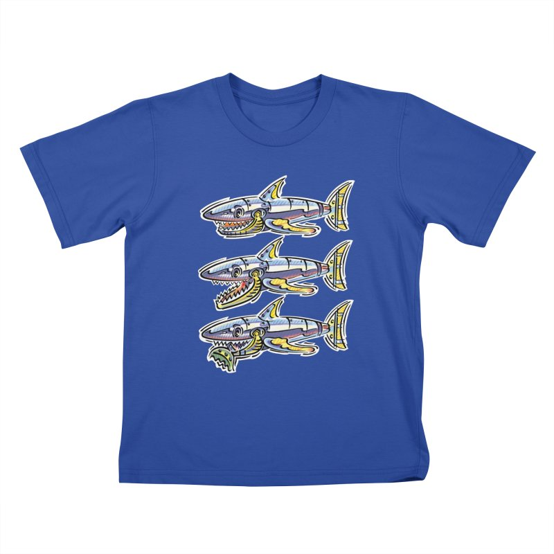 Shark Eat Kids T-Shirt by thethinkforward's Artist Shop