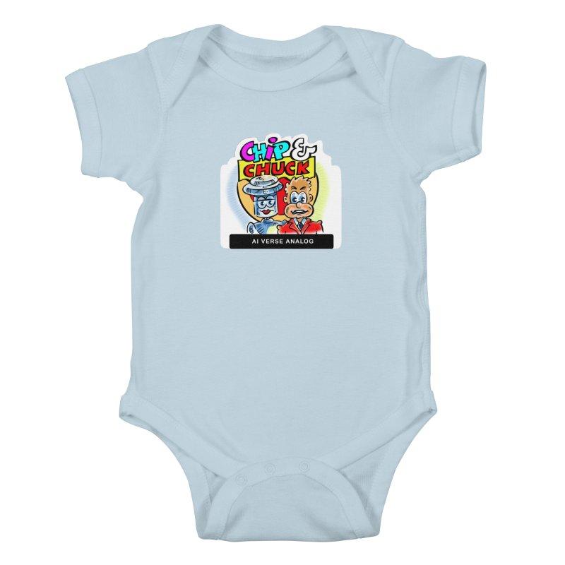 AI Verse Analog Kids Baby Bodysuit by thethinkforward's Artist Shop