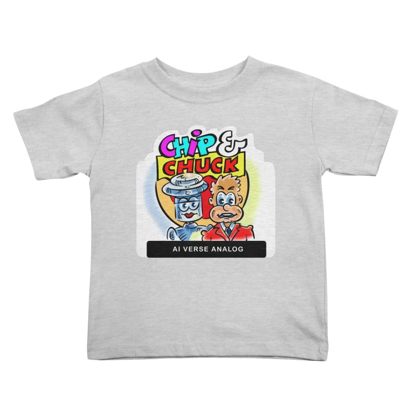 AI Verse Analog Kids Toddler T-Shirt by thethinkforward's Artist Shop