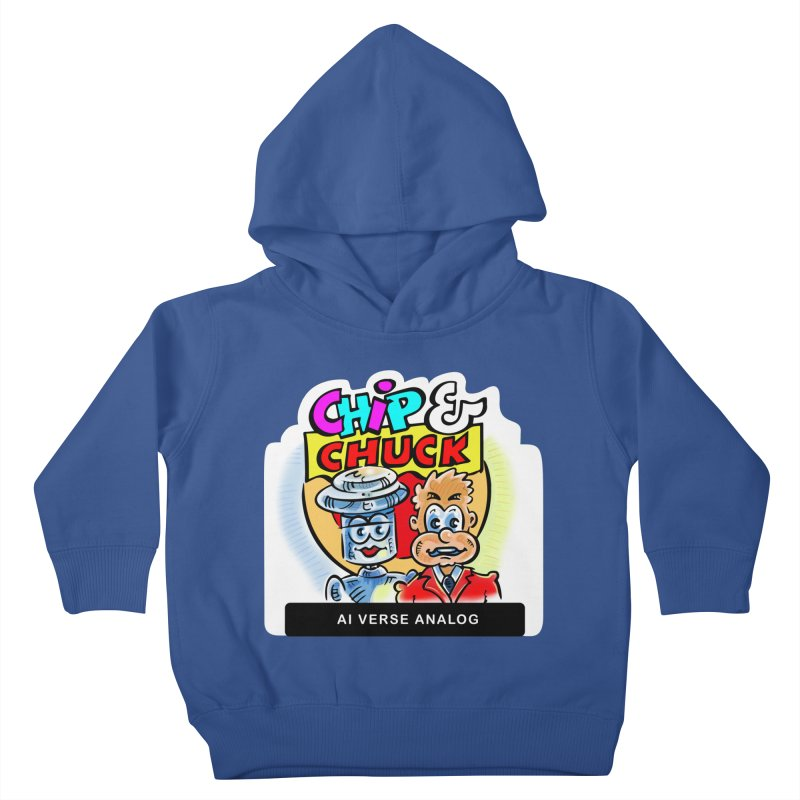 AI Verse Analog Kids Toddler Pullover Hoody by thethinkforward's Artist Shop