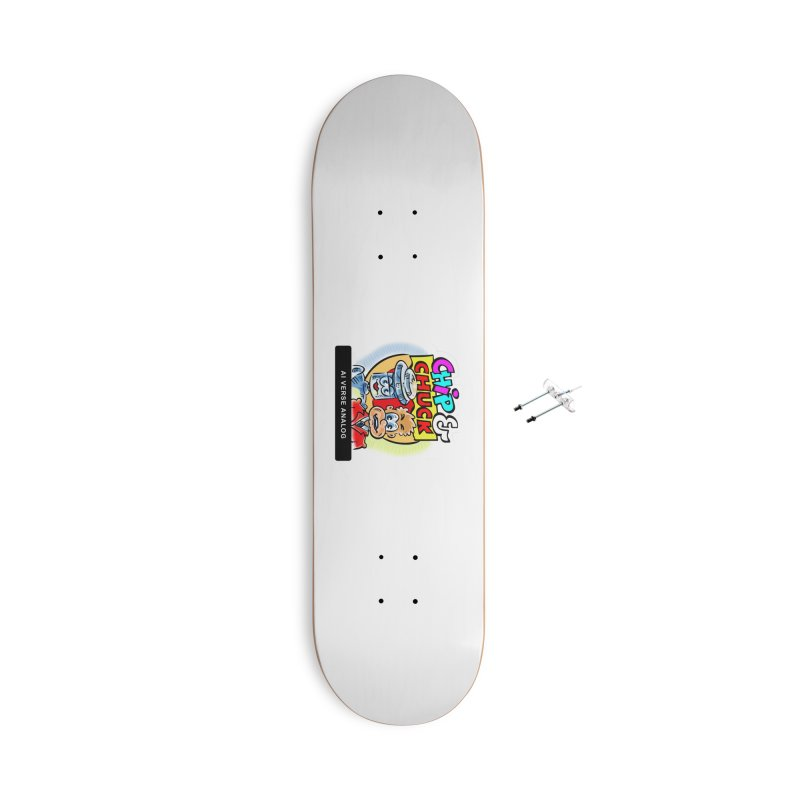 AI Verse Analog Accessories With Hanging Hardware Skateboard by thethinkforward's Artist Shop