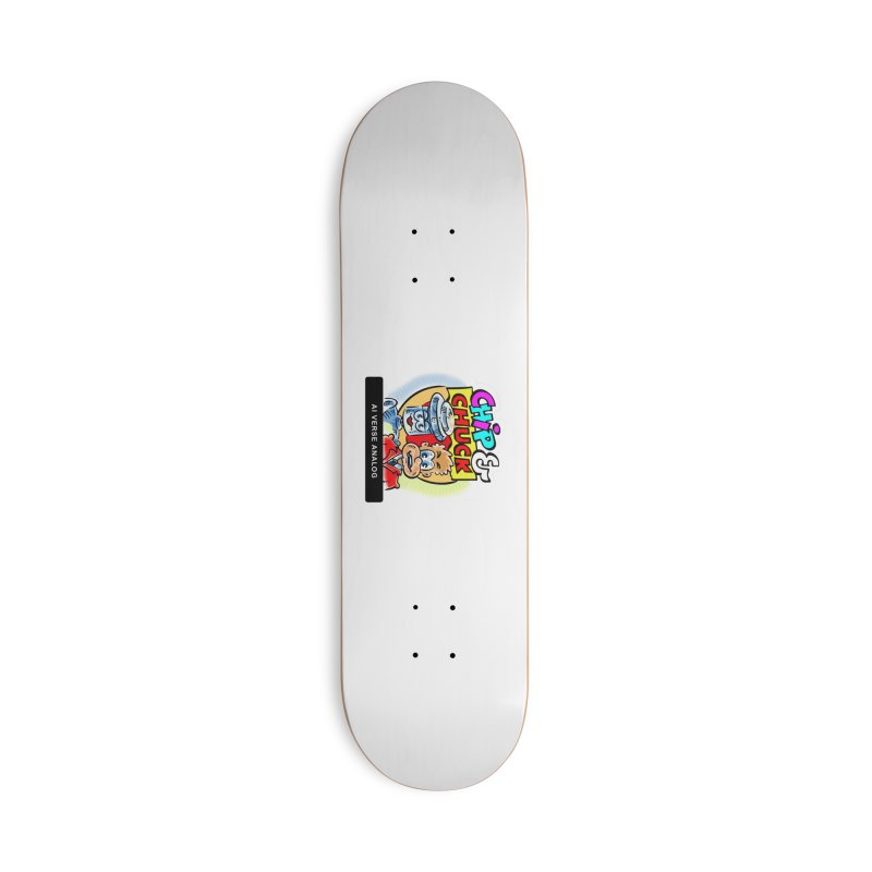 AI Verse Analog Accessories Deck Only Skateboard by thethinkforward's Artist Shop