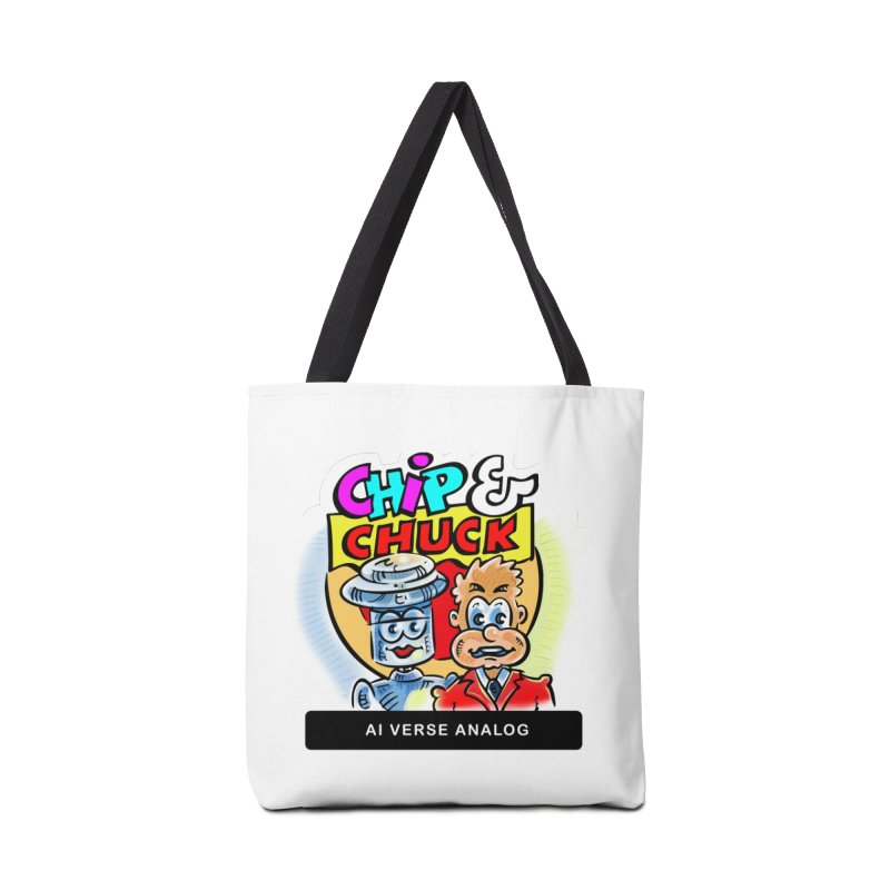 AI Verse Analog Accessories Tote Bag Bag by thethinkforward's Artist Shop