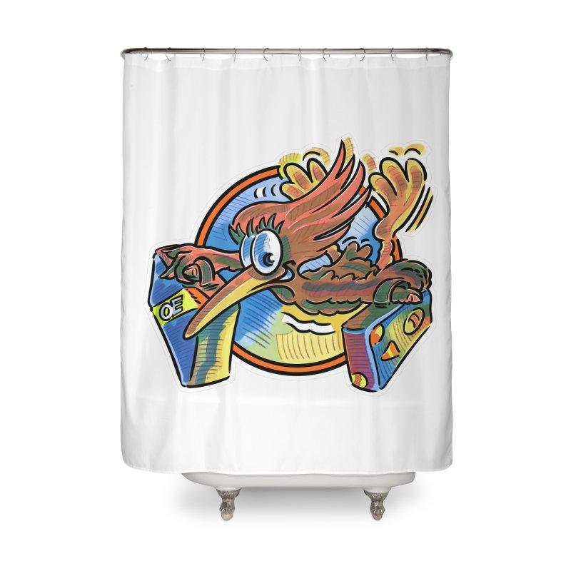 KIWI-FLY Home Shower Curtain by thethinkforward's Artist Shop