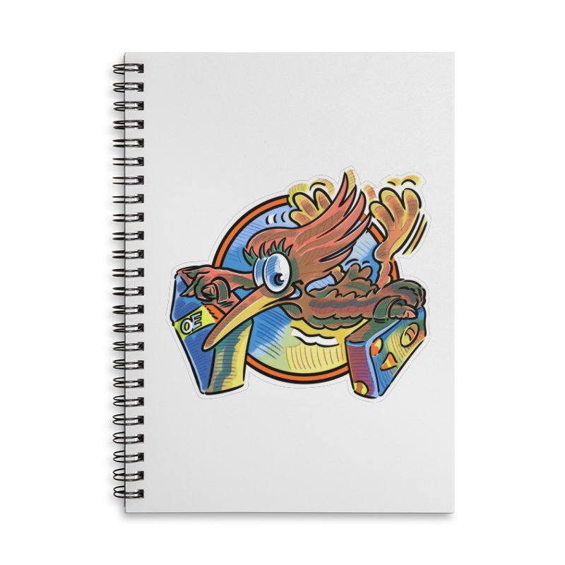KIWI-FLY Accessories Notebook by thethinkforward's Artist Shop