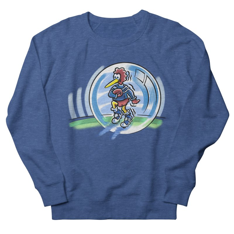 KIWI in a Bubble Men's Sweatshirt by thethinkforward's Artist Shop