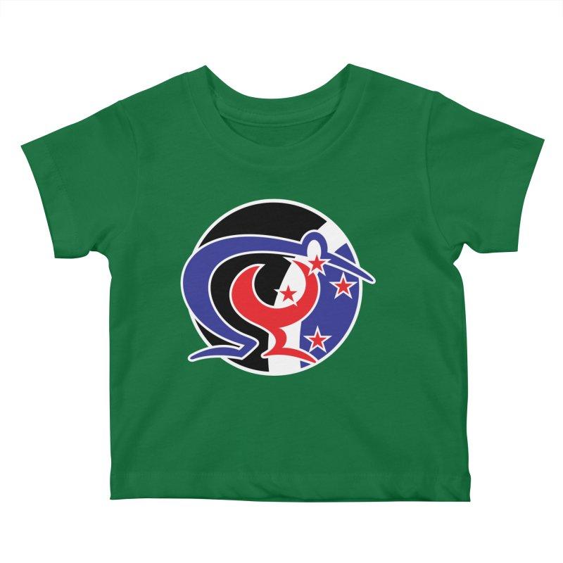 KIWI KORU Kids Baby T-Shirt by thethinkforward's Artist Shop