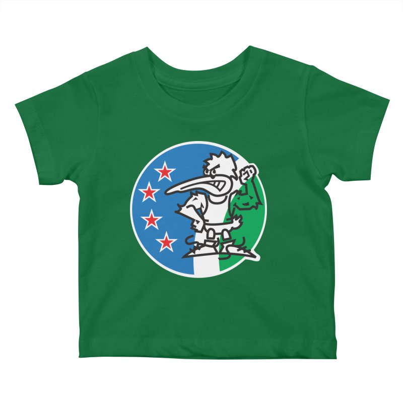 KIWI MAD Kids Baby T-Shirt by thethinkforward's Artist Shop