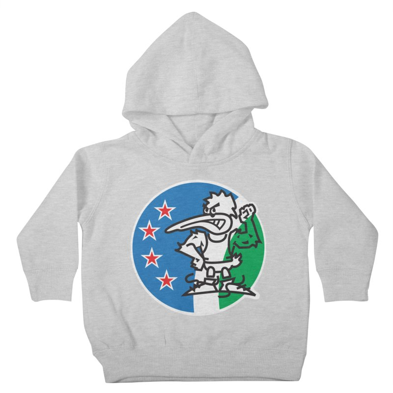 KIWI MAD Kids Toddler Pullover Hoody by thethinkforward's Artist Shop
