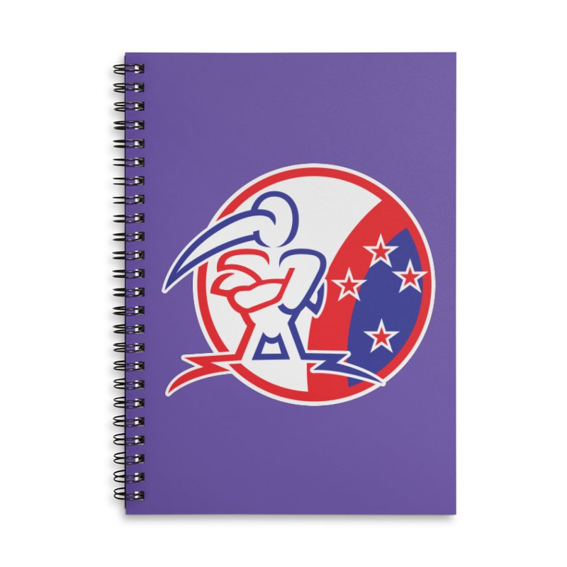 KIWI STRONG KIA KAHA Accessories Notebook by thethinkforward's Artist Shop