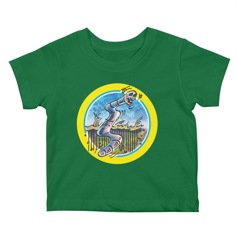 The early WORM beats the Bird Kids Baby T-Shirt by thethinkforward's Artist Shop