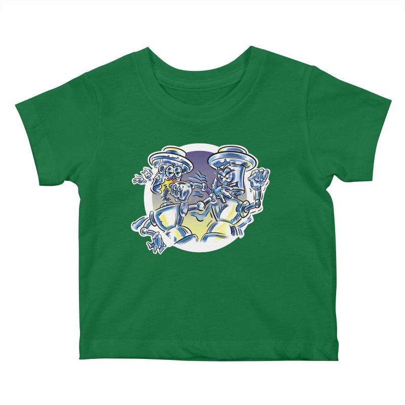 ROBOT WARS Kids Baby T-Shirt by thethinkforward's Artist Shop
