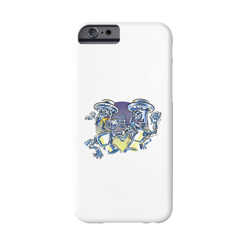 ROBOT WARS Accessories Phone Case by thethinkforward's Artist Shop