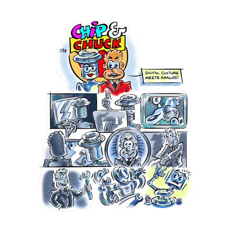 Chip & Chuck Analog by thethinkforward's Artist Shop