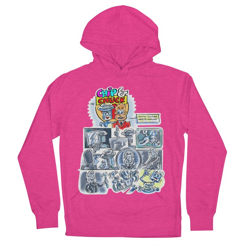 Chip & Chuck Analog Men's French Terry Pullover Hoody by thethinkforward's Artist Shop