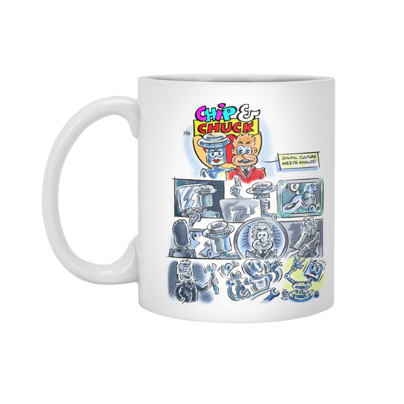 Chip & Chuck Analog Accessories Mug by thethinkforward's Artist Shop