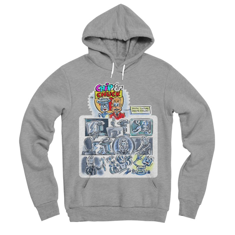 Chip & Chuck Analog Women's Sponge Fleece Pullover Hoody by thethinkforward's Artist Shop