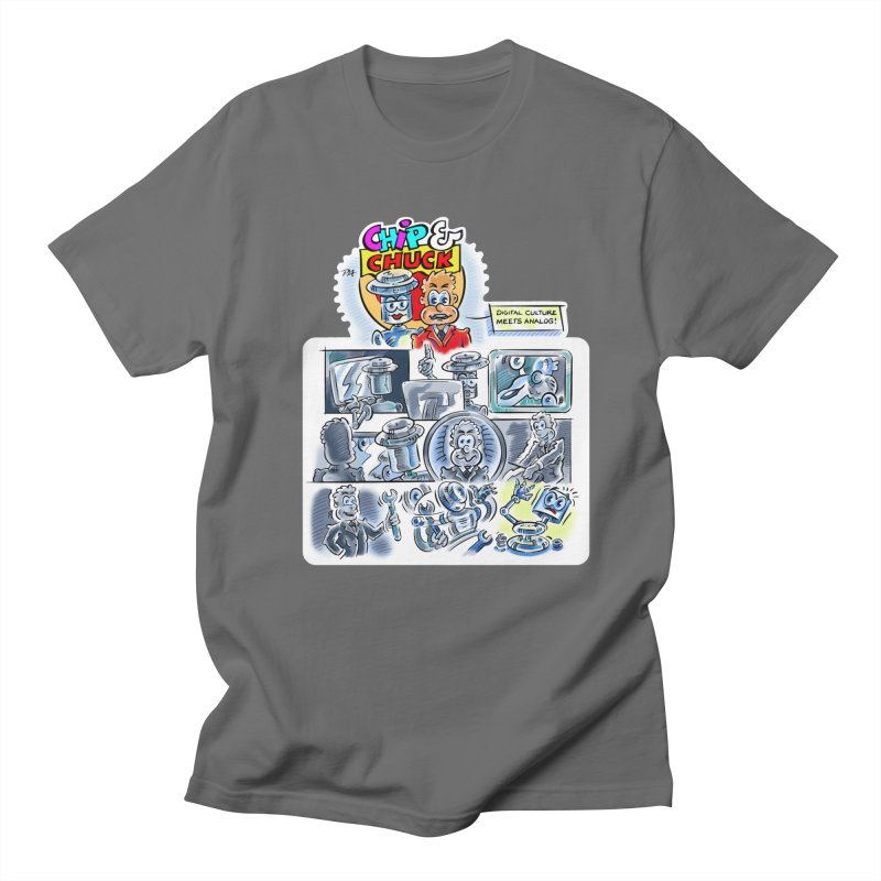 Chip & Chuck Analog Men's T-Shirt by thethinkforward's Artist Shop