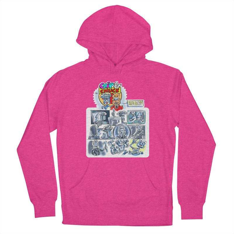 Chip & Chuck Analog Women's Pullover Hoody by thethinkforward's Artist Shop