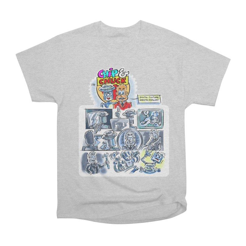 Chip & Chuck Analog Women's Heavyweight Unisex T-Shirt by thethinkforward's Artist Shop