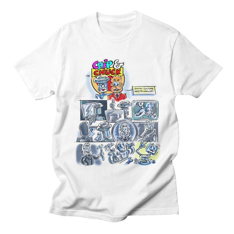 Chip & Chuck Analog Women's Regular Unisex T-Shirt by thethinkforward's Artist Shop