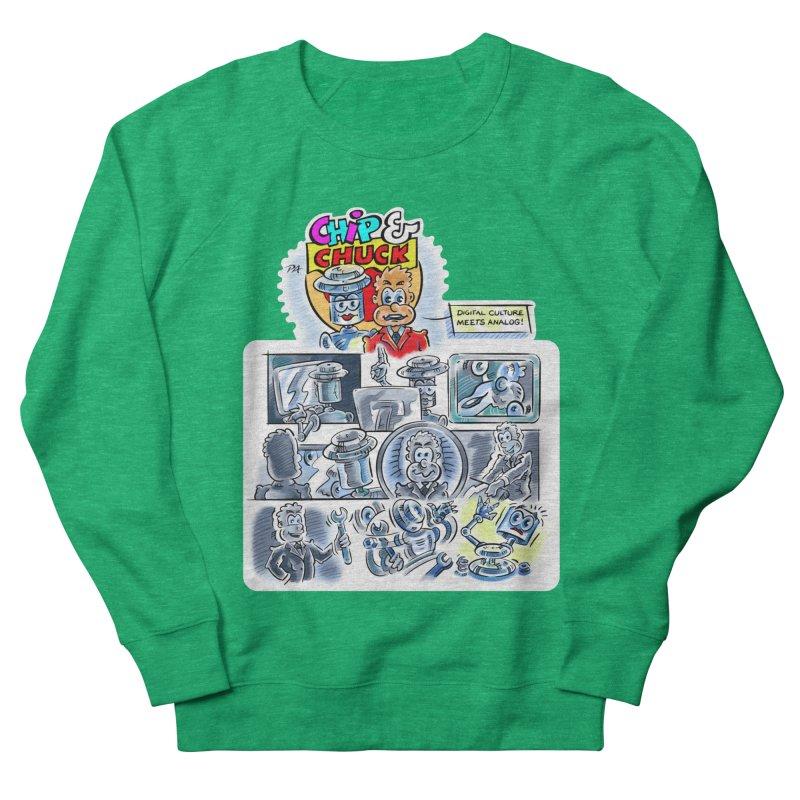 Chip & Chuck Analog Women's Sweatshirt by thethinkforward's Artist Shop