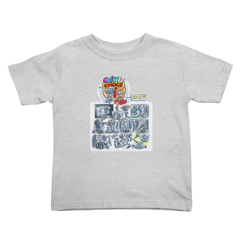 Chip & Chuck Analog Kids Toddler T-Shirt by thethinkforward's Artist Shop