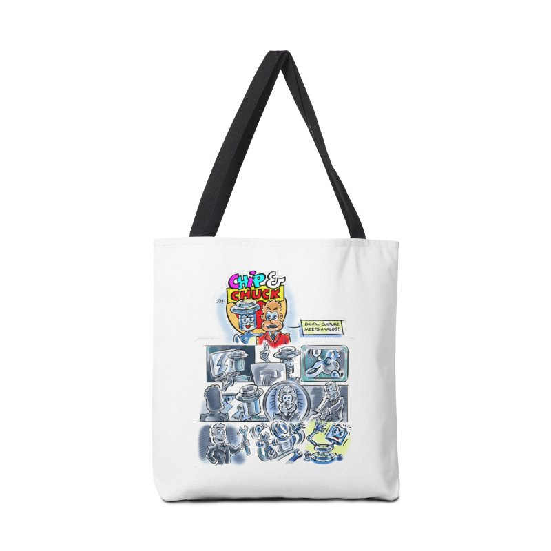 Chip & Chuck Analog Accessories Tote Bag Bag by thethinkforward's Artist Shop