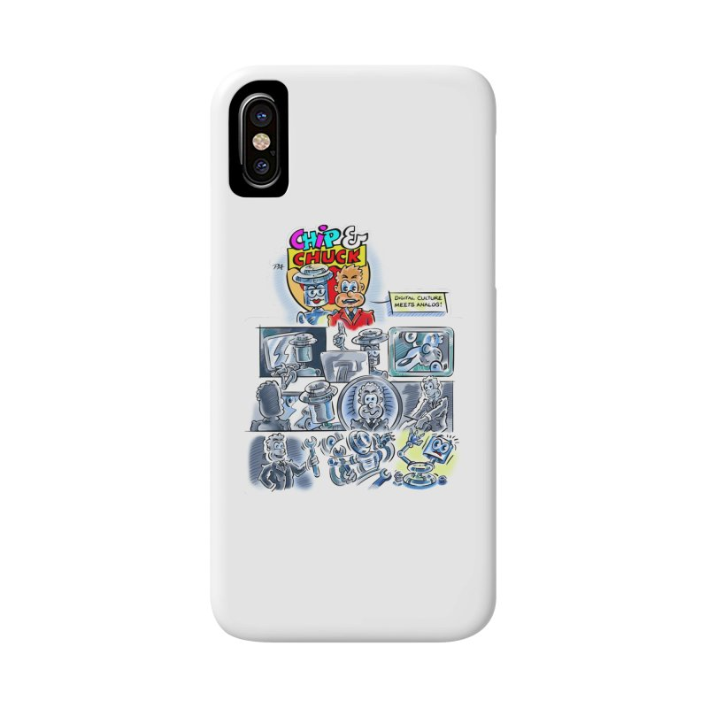 Chip & Chuck Analog Accessories Phone Case by thethinkforward's Artist Shop