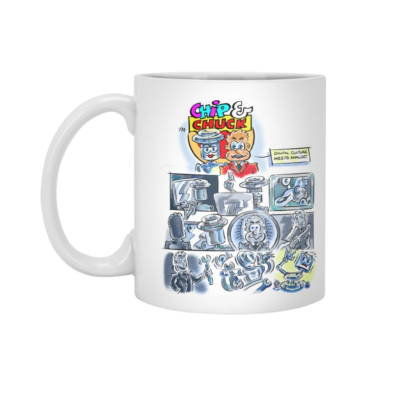 Chip & Chuck Analog Accessories Standard Mug by thethinkforward's Artist Shop