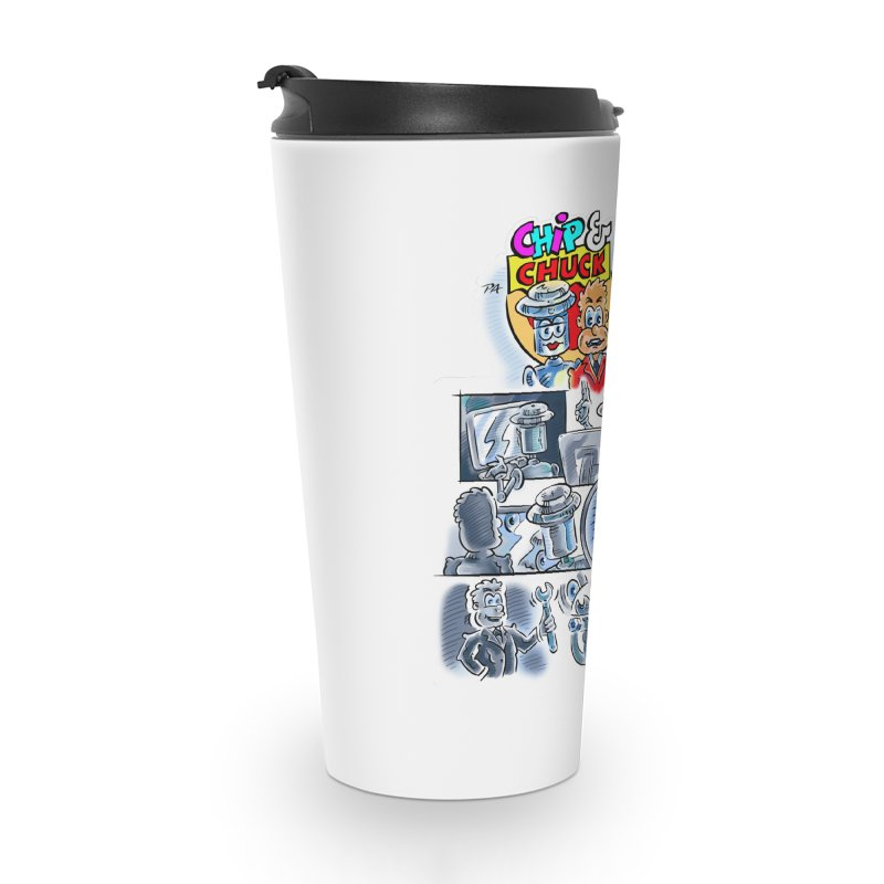 Chip & Chuck Analog Accessories Travel Mug by thethinkforward's Artist Shop