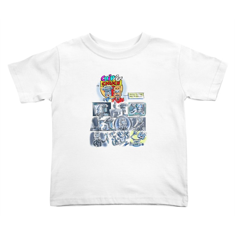 Chip & Chuck Analog Kids Toddler T-Shirt by thethinkforward's Artist Shop