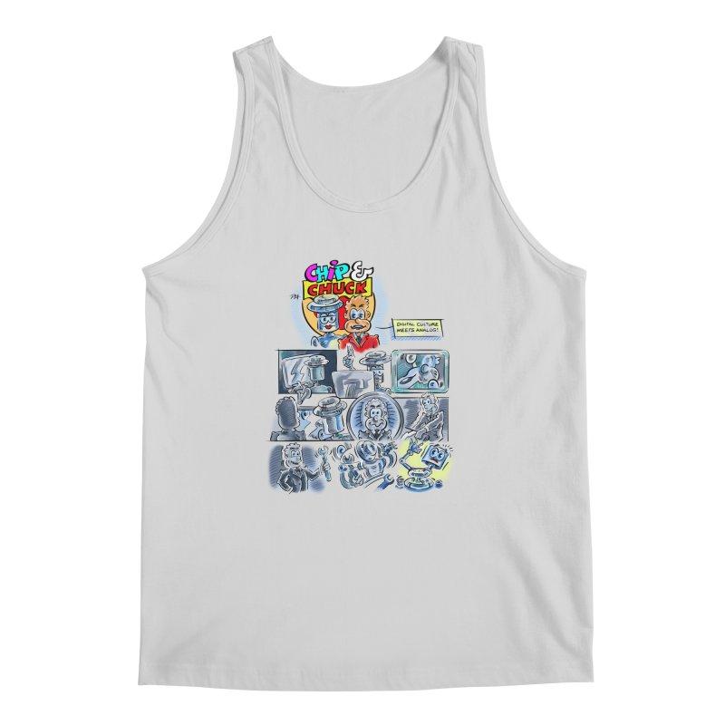 Chip & Chuck Analog Men's Regular Tank by thethinkforward's Artist Shop