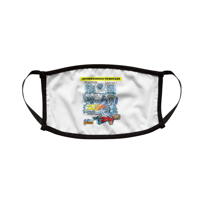 CHIP goes driving Accessories Face Mask by thethinkforward's Artist Shop