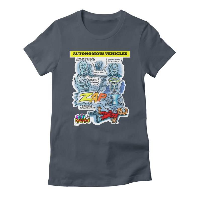 CHIP goes driving Women's T-Shirt by thethinkforward's Artist Shop