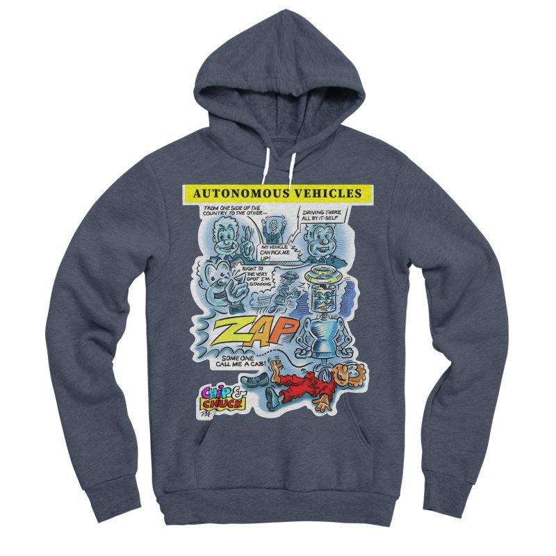 CHIP goes driving Women's Sponge Fleece Pullover Hoody by thethinkforward's Artist Shop