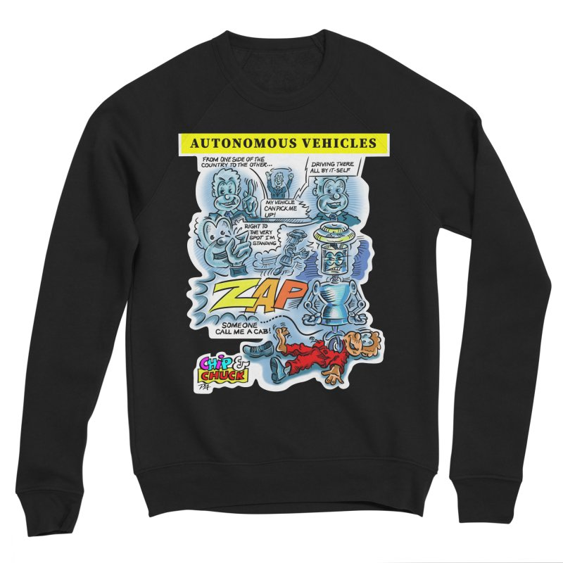 CHIP goes driving Women's Sweatshirt by thethinkforward's Artist Shop