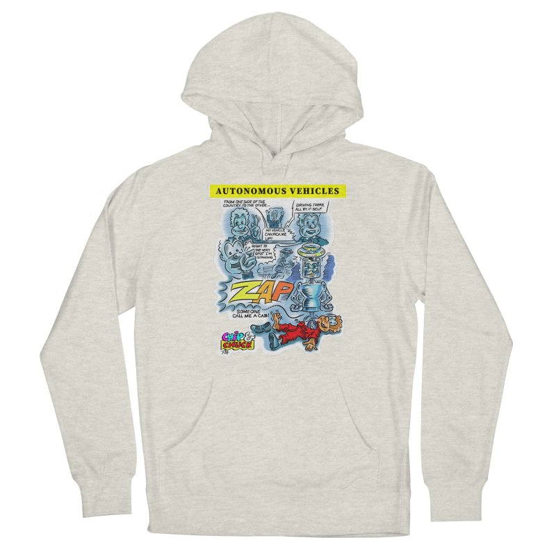 CHIP goes driving Men's Pullover Hoody by thethinkforward's Artist Shop