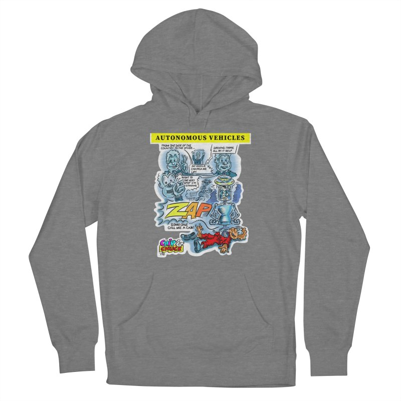 CHIP goes driving Women's Pullover Hoody by thethinkforward's Artist Shop
