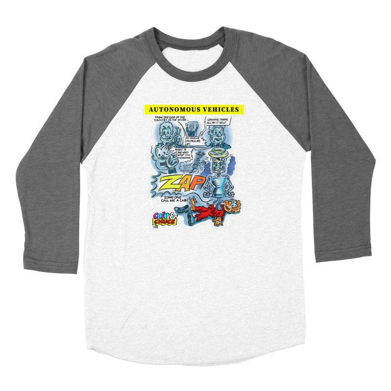 CHIP goes driving Women's Longsleeve T-Shirt by thethinkforward's Artist Shop