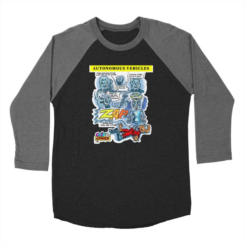 CHIP goes driving Women's Baseball Triblend Longsleeve T-Shirt by thethinkforward's Artist Shop