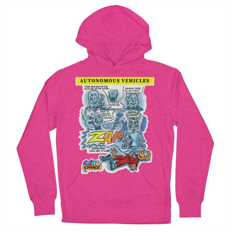 CHIP goes driving Women's French Terry Pullover Hoody by thethinkforward's Artist Shop