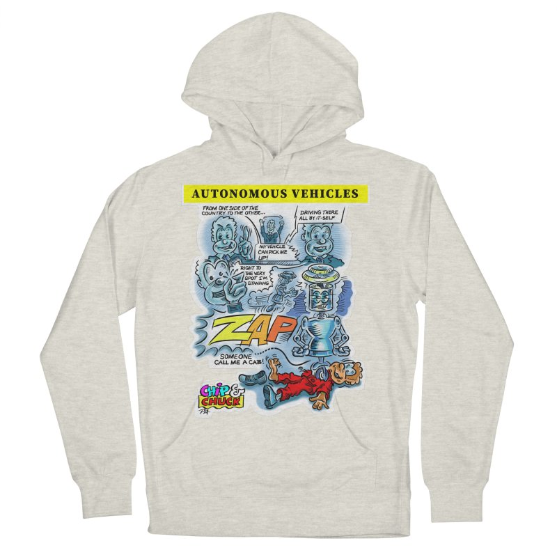 CHIP goes driving Men's French Terry Pullover Hoody by thethinkforward's Artist Shop