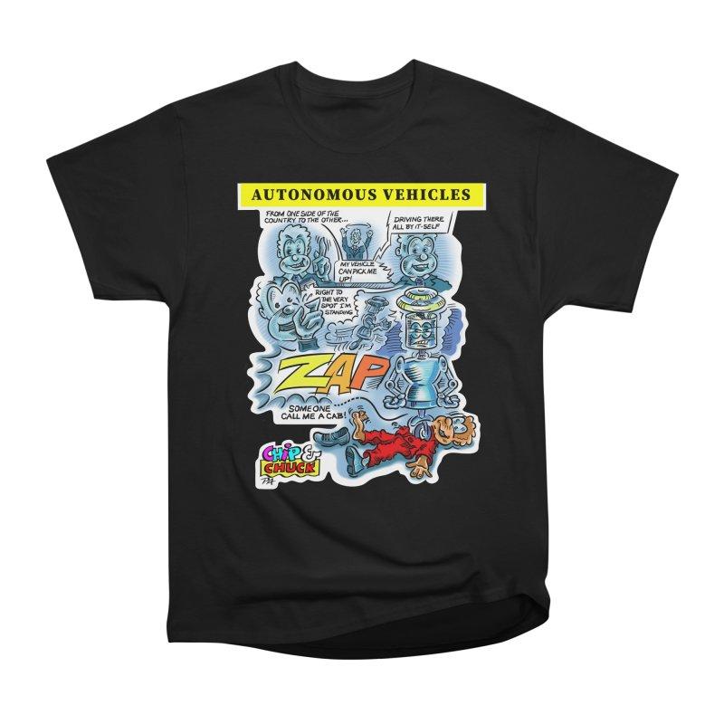 CHIP goes driving Men's Heavyweight T-Shirt by thethinkforward's Artist Shop