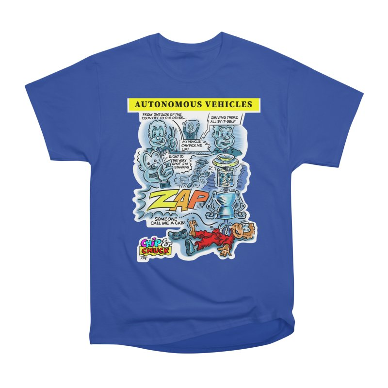 CHIP goes driving Men's Heavyweight T-Shirt by thethinkforward's Artist Shop