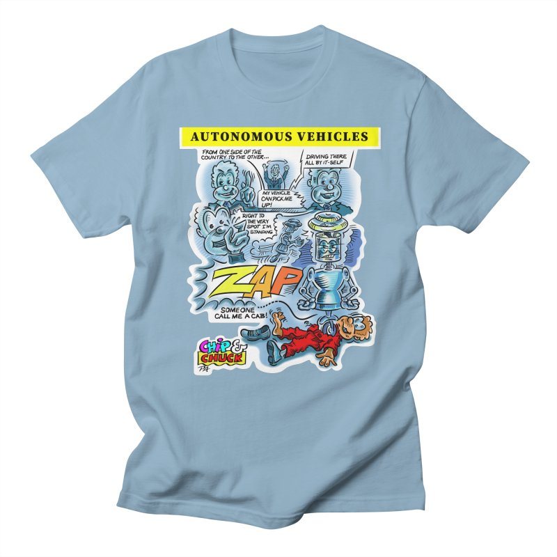 CHIP goes driving Men's T-Shirt by thethinkforward's Artist Shop