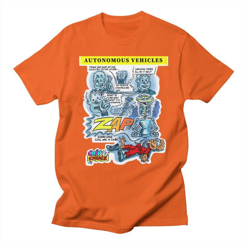 CHIP goes driving Women's Regular Unisex T-Shirt by thethinkforward's Artist Shop