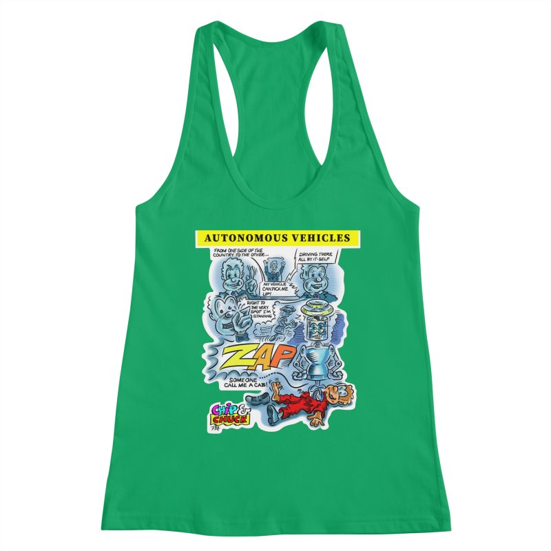 CHIP goes driving Women's Tank by thethinkforward's Artist Shop