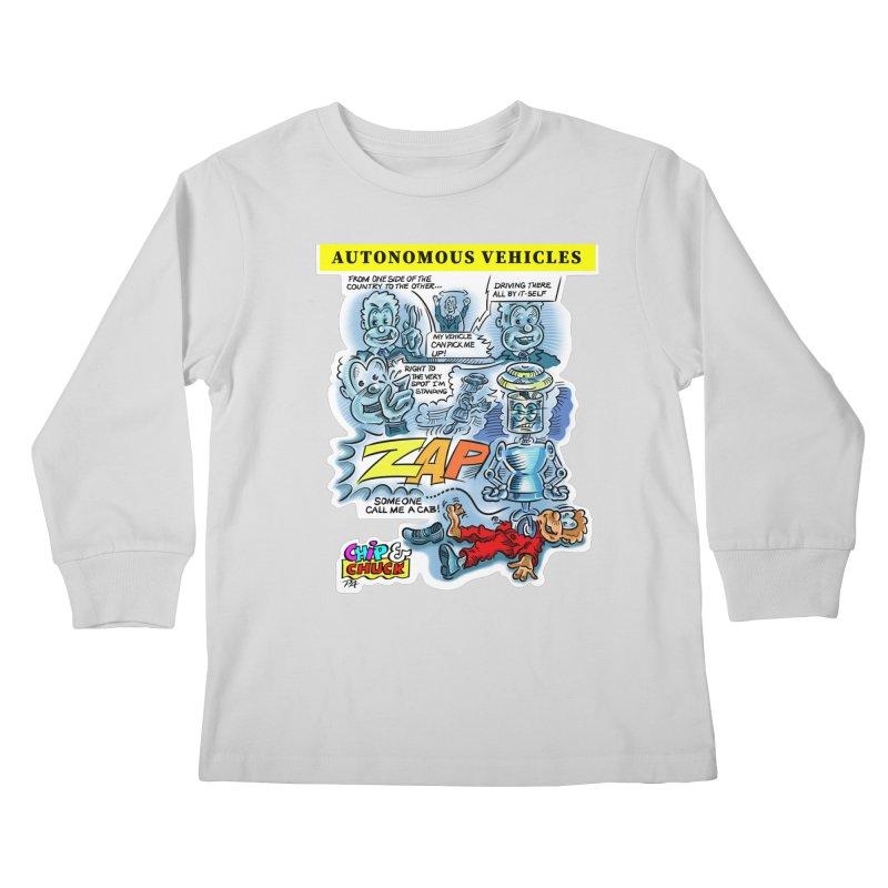 CHIP goes driving Kids Longsleeve T-Shirt by thethinkforward's Artist Shop
