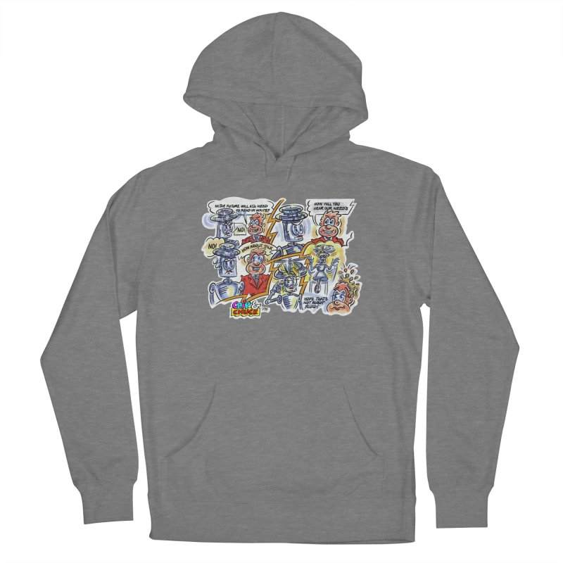 CHIP fly and robot fluid Women's Pullover Hoody by thethinkforward's Artist Shop